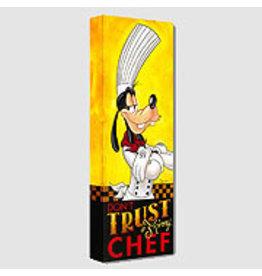 DISNEY Don't Trust a Skinny Chef -  Disney Treasure On Canvas