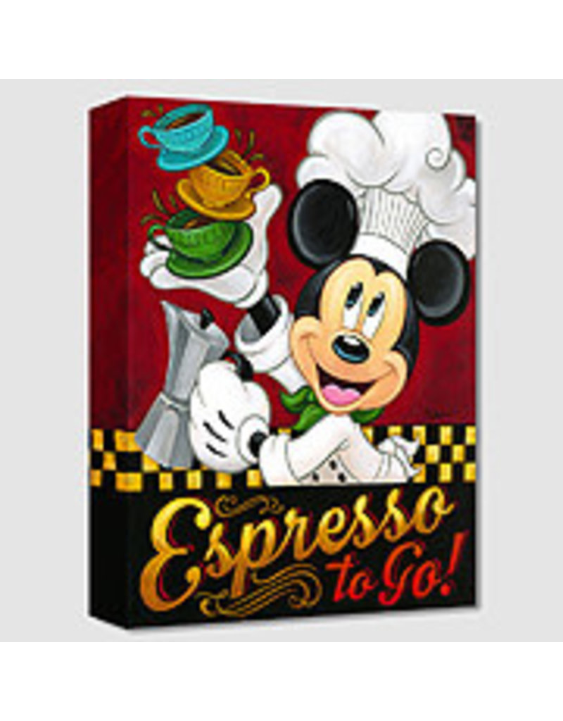 DISNEY Espresso to Go -  Disney Treasure On Canvas