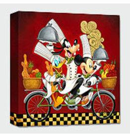 DISNEY Wheeling With Flavor -  Disney Treasure On Canvas