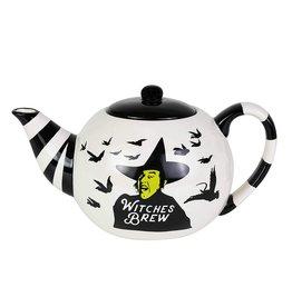Witches Brew Ceramic Teapot