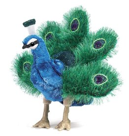 Folkmanis: Small Peacock Puppet