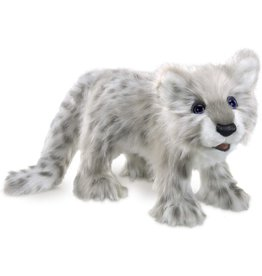 Folkmanis: Snow Leopard Cub