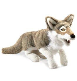 Folkmanis: Gray Wolf Puppet