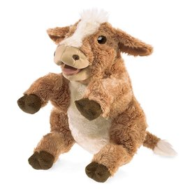 Folkmanis: Brown Cow Puppet