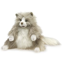 Folkmanis: Fluffy Cat Puppet