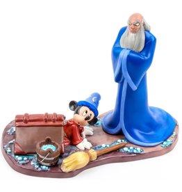 "DISNEY Disney Mickey Mouse & Yen Sid ""Oops"" WDCC"