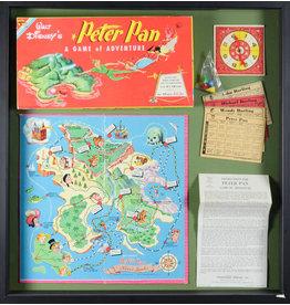 DISNEY 1953 Peter Pan Board Game Display