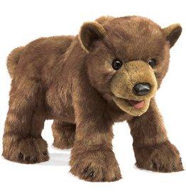 Folkmanis: Brown Bear Cub