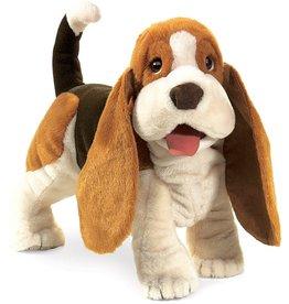 Folkmanis: Basset Hound Puppet