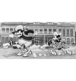 DISNEY The Big Chase -  Disney Treasure On Canvas