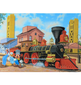 DISNEY Old Town Engine -  Disney Treasure On Canvas