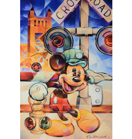 DISNEY Happy Engineer -  Disney Treasure On Canvas
