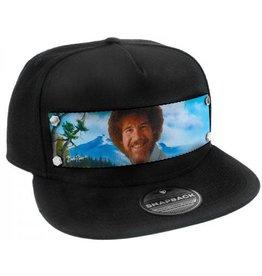 Bob Ross Smiling Hat