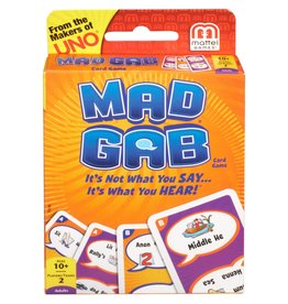 Mad Gab Card Game