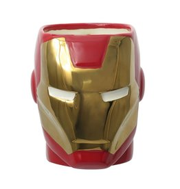 Iron Man 3D Ceramic Mug