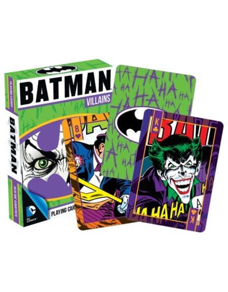 Batman Villains Playing Cards