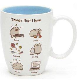 Pusheen Things I Love Mug