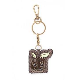 Groot Metal Keychain