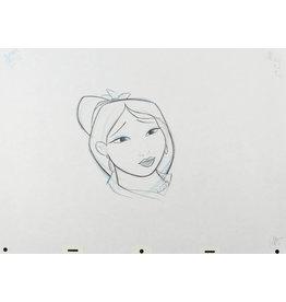 DISNEY Mulan Production Drawing #2