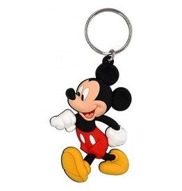 Walking Mickey Soft Keychain