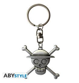 Luffy One Piece Metal Keychain