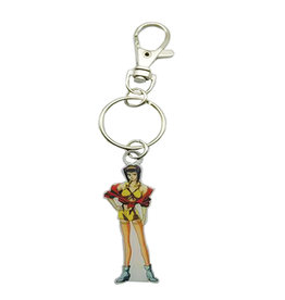 Cowboy Bebop Faye Metal Keychain