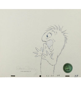 WARNER BROS. Gossamer Production Drawing
