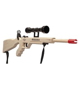 Sniper Rifle With Scope & Sling