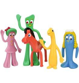 """Gumby & Friends Bendable Figure Set 5.5"""""""