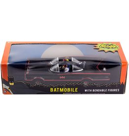 "Classic Batmobile With Bendable 3"" Batman & Robin"