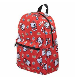 Hello Kitty Sublimated Print Laptop Backpack
