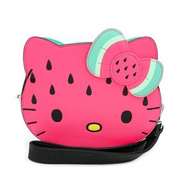 LOUNGEFLY Hello Kitty Watermelon Crossbody Bag