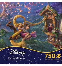 DISNEY Thomas Kinkade Tangled 750 Pc Puzzle