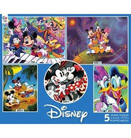 DISNEY Disney Classics 3 Puzzles-5 In 1