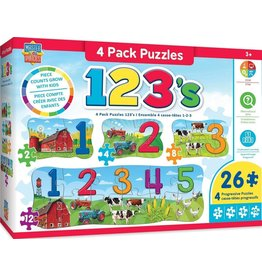 123's Four Pack Puzzle