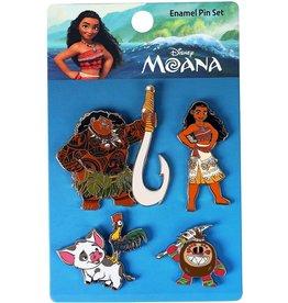 Loungefly Moana Enamel Pin Set