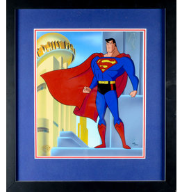 WARNER BROS. Classic Superman TV Hand Painted Cel