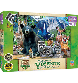 Wildlife Of Yosemite Puzzle 100 Pc