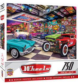 Wheels-Collector's Garage Puzzle 750 pc