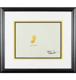 WARNER BROS. Tweety Hand Painted Cel