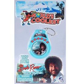 "World's Coolest: Bob Ross Talking Keychain 3"""