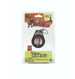 "World's Coolest: Office Talking Dwight Keychain 3"""