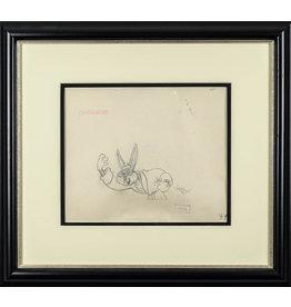 WARNER BROS. Kung Fu Bugs Bunny Production Drawing