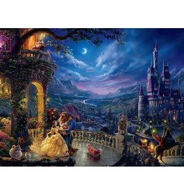 Beauty and The Beast Dancing in The Moonlight  1500pc. Puzzle