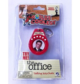 "World's Coolest: Office Talking Keychain 3"""