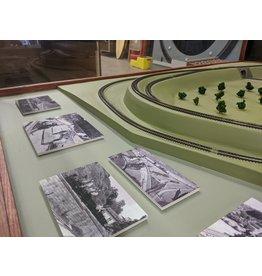 Custom Made Walt Disney Holmby Hills Model Train Set