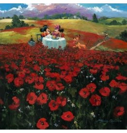DISNEY Red Poppies