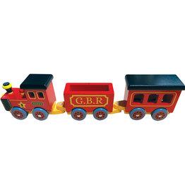 Tiddlytots Wooden Choo-Choo Train