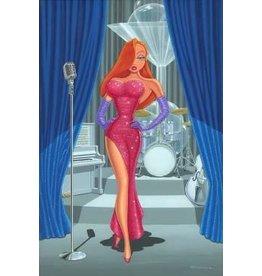 DISNEY Diva in a Red Dress