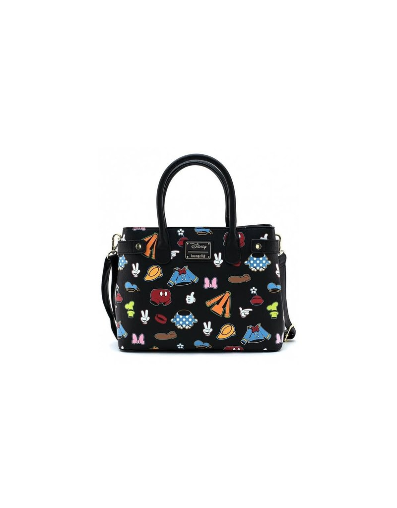 LOUNGEFLY Sensational All Over Parts Crossbody